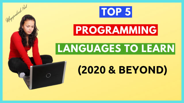 top 5 programming languages to learn in 2020 and beyond